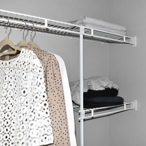 Wire Wardrobe Shelving